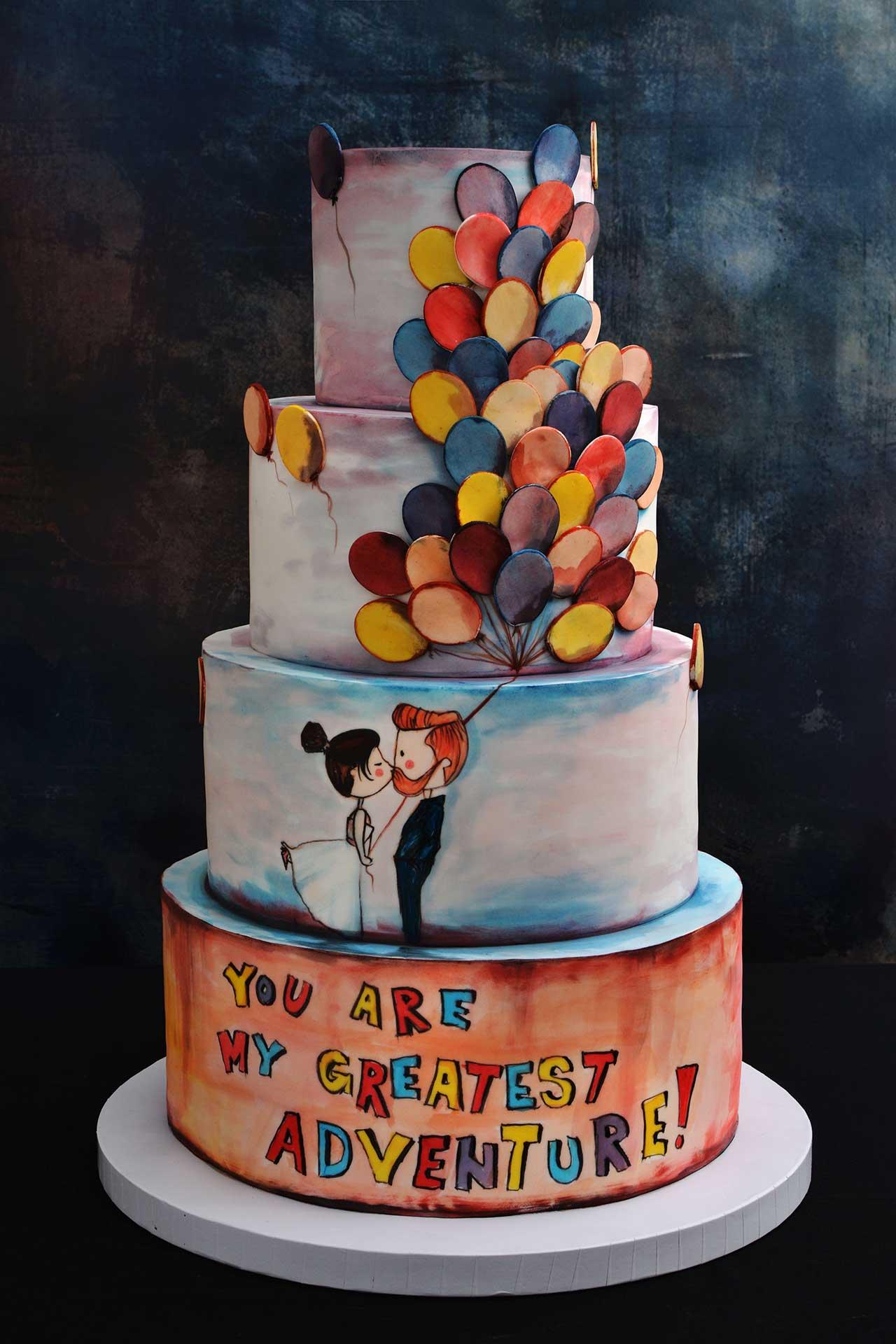 Originalne svadbene torte i kolači