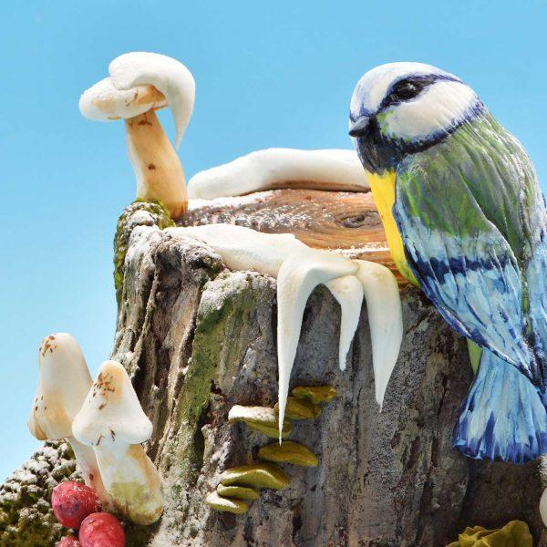 Zimski panj sa pticom torta