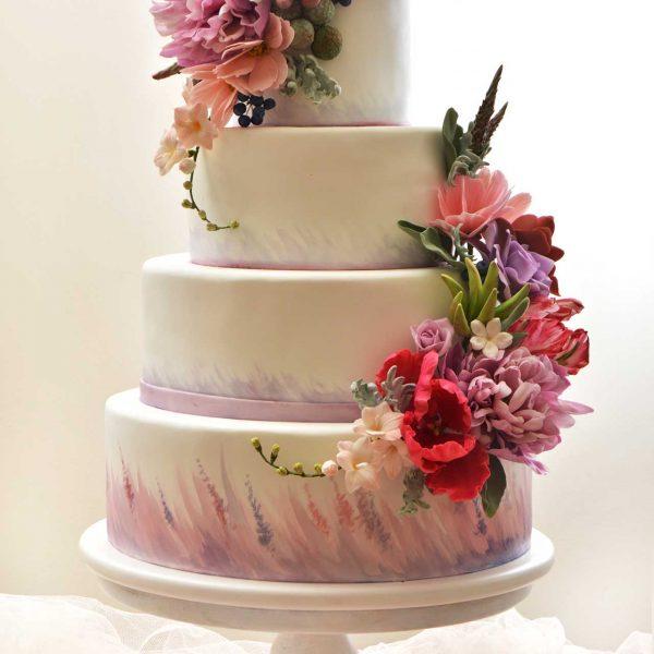 Cvetni aranžman - dekoracija; torte i kolači