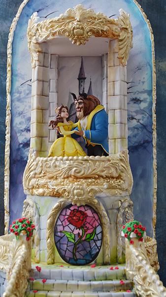 Decije torte-lepotica i zver