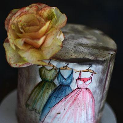 Rodjendanske torte-bronza makaronsi