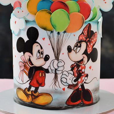 Decije torte-Miki i Mini baloni