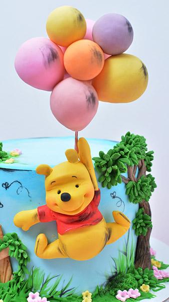 Decije torte-Vini pu baloni