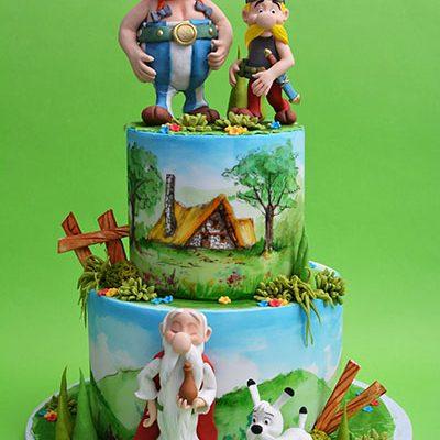 Decije torte Asterix i Obelix
