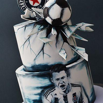 Decije torte Fudbal