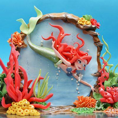 Decije torte Mala sirena u moru