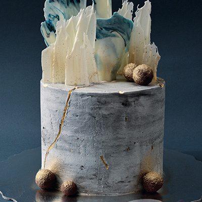 Rodjendanske torte Beton efekat