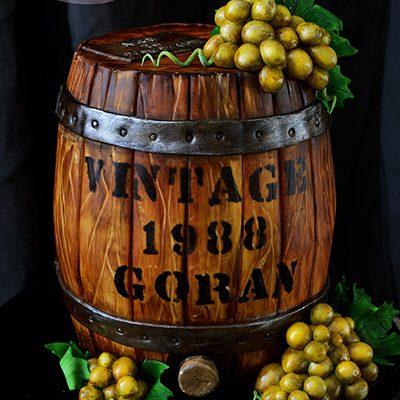 Rodjendanske torte Bure za vino