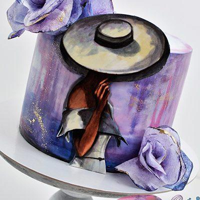 Rodjendanske torte Dama sa sesirom