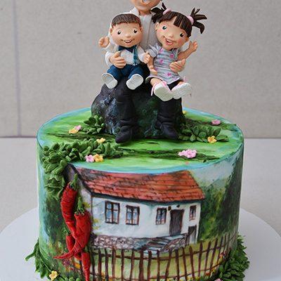 Rodjendanske torte Deda i unuci