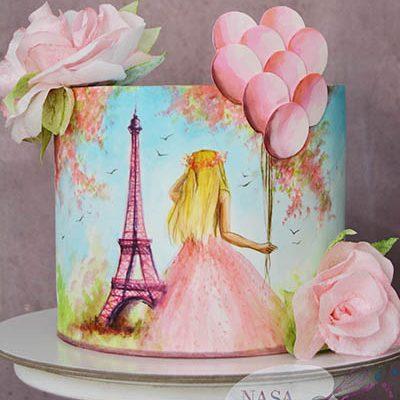 Rodjendanske torte Devojka u Parizu