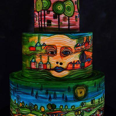 Rodjendanske torte Hundertwasser