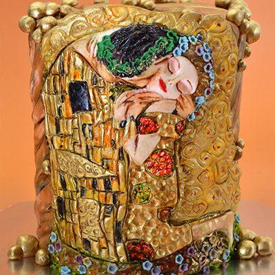 Rodjendanske torte Klimt Poljubac