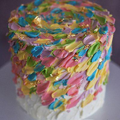 Rodjendanske torte Puterkrem dekoracija
