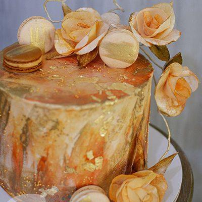 Rodjendanske torte Puterkrem wafer cvece