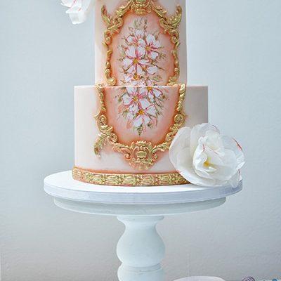 Rodjendanske torte Rokoko sa cvecem