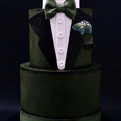 Rodjendanske torte Smoking Musko odelo